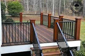 iron deck railing railings for patios deck railing ideas deck