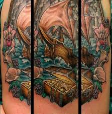 25 trending pirate tattoo half sleeve ideas on pinterest pirate