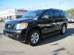 2008 nissan armada engine for sale 2008 nissan armada le 4x4 in galaxy black 605131 nysportscars