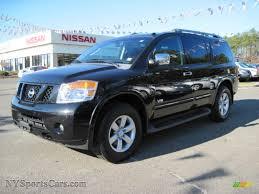 nissan armada for sale cars com 2008 nissan armada le 4x4 in galaxy black 605131 nysportscars