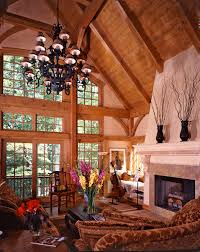 timber frame great room lighting light spills into the great room from the window wall a space where