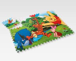 tappeto puzzle disney set con tappetino puzzle per bambini 12 pezzi disney aldi