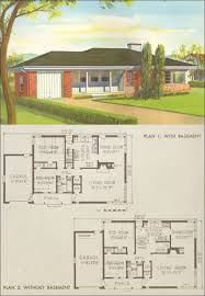1950s ranch house plans lovely idea 50s house plans 11 homes and plans of the 1940s 50s