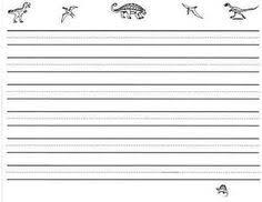 dinosaur handwriting worksheet penmanship practice pinterest