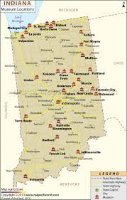 Indiana State Map 261 Best People And Places In Indiana Images On Pinterest