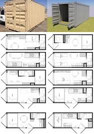 26 shipping container floor plans folding modular house