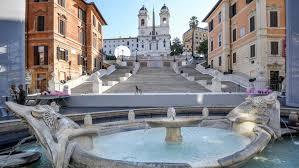 spanische treppe in rom rom spanische treppe nach restaurierung wieder eröffnet spiegel