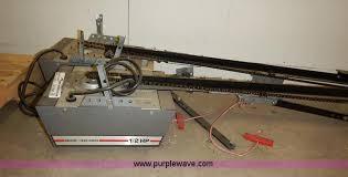 craftsman 1 2 hp garage door opener powerlift 12 hp drive