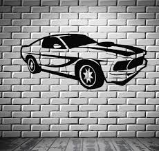 sport race speed car motor vehicle mural wall art decor vinyl sport race speed car motor vehicle mural wall art decor vinyl sticker z552