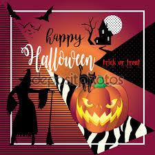 halloween halloween illustration with halloween pumpkin bat