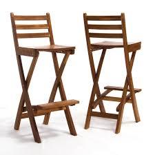 belham living sable wood bar height patio bar stool set of 2