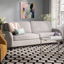 willa arlo interiors hanriette linen sofa u0026 reviews wayfair