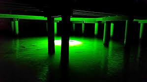 green blob fishing light reviews dock green blob 7500 underwater fishing light 7500 lumens green