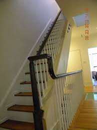 Banister Repair Wood Stairs And Rails And Iron Balusters Repair Wood Stairs