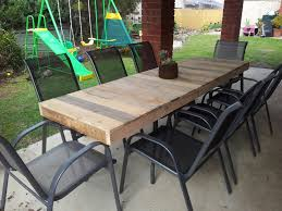 Outdoor Pallet Table Creating A Hobby Farm In The Suburbs