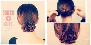 tutorial menata rambut panjang simple tutorial simple korean cute bun vemale com