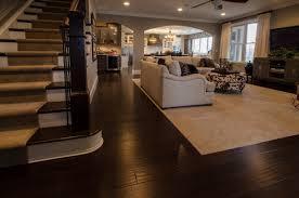 open floor plan home most popular types of flooring for open floor plans home decor help