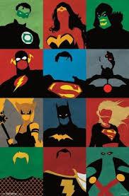 bright super hero pop art poster pop art posters