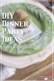diy dinner party ideas country design style