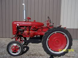 rare farmall super av high crop tractor dual fuel like