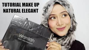 tutorial make up wardah untuk pesta tutorial makeup hijab one brand makeup wardah natural