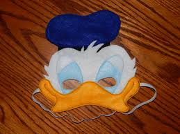 daisy and donald duck halloween costumes donald duck felt mask costume accessory any size available