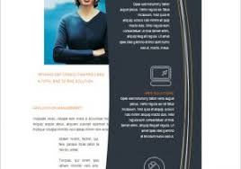 templates for brochures microsoft word simple technology brochure