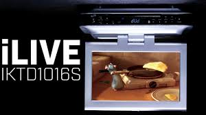 Under Kitchen Cabinet Cd Player Ilive Iktd1016s Under Cabinet Kitchen Tv Youtube