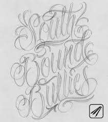 design lettering old english script pencil sketches tattoo