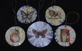 Victorian Christmas Ornaments - spun glass christmas ornament pattern a how to guide
