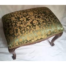 Mahogany Ottoman Antique Louis Xv Carved Mahogany Wood Foot Stool Ottoman