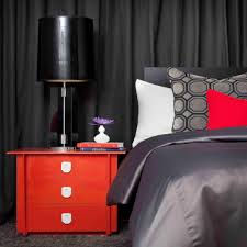 gray and red bedroom wall art ideas for bedroom