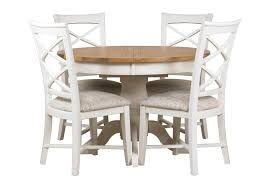 breakfast table with 4 chairs round extendable pedestal dining table coryc me