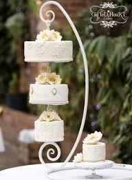 hanging chandelier wedding cake stand thesecretconsul com