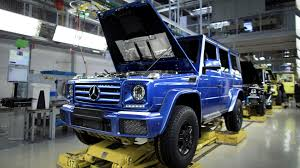 this is mercedes u0027 300 000th g class produced