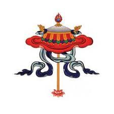 Buddhist Treasure Vase Eight Sacred Symbols The Protection Parasol The Precious