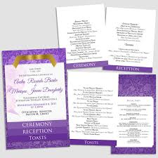 layered wedding programs b layered wedding programs s3 stewy s greetings