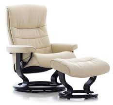 ekornes stressless nordic recliner chair lounger and ottoman