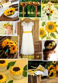 sunflower decorations for wedding sunflower decorations