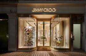 crystalblog jimmy choo s window displays are a feast for the