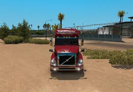 volvo truck shop volvo vnl 730 red fantasy for vnl truck shop skin ats mod