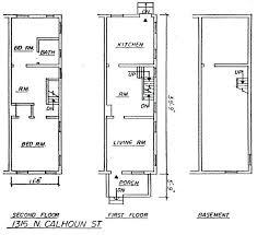 row home floor plan row home floor plans baltimore row home floor plans yuinoukin com