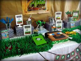 minecraft birthday party minecraft inspired birthday party project nursery