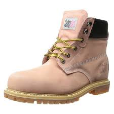 womens steel toe boots near me safetygirl steel toe waterproof womens work boots light pink