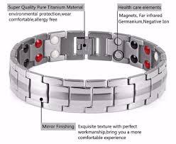 germanium energy bracelet images Healing magnetic titanium bio energy bracelet jpg