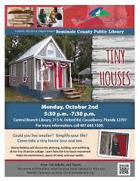 tiny houses central branch library casselberry seminol