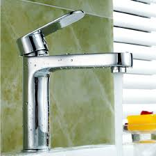 free shipping modern bathroom taps brass chrome single hole