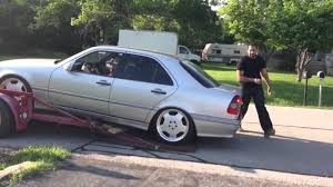 lowered mercedes mercedes w202 lowered problems youtube