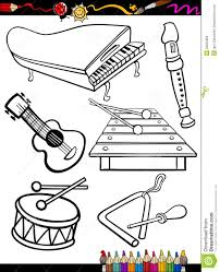 instrument coloring pages chuckbutt com