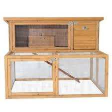 deluxe double rabbit hutch with exercise run rabbithutchesstore